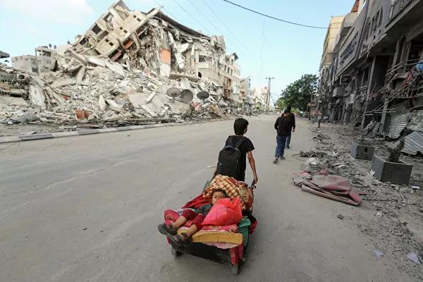 Жители сектора Газа массово покидают свои дома