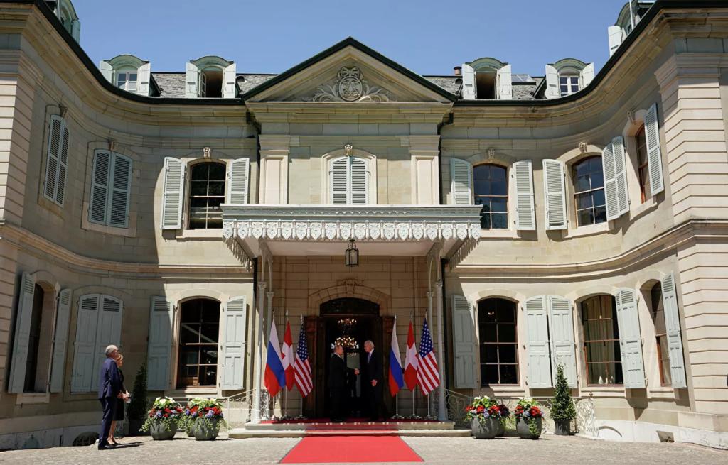 Встреча Путина и Байдена в Женеве